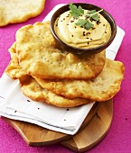 Fried flatbread