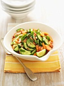 Thai papaya and cucumber salad