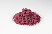 A heap of acai powder (diet aid)