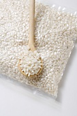 Risotto rice in a bag
