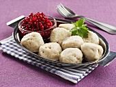 Kroppkakor (Potato dumplings with meat stuffing, Sweden)