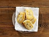 Mandelkubbar (Almond biscuits, Sweden)