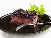 Röd kalpudding (Red cabbage bake, Sweden)