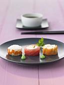 Three tazuna sushi