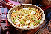 Lentil salad with onions (Africa)