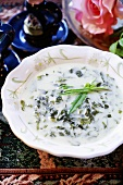 Jewish herb soup