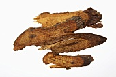 Dried teasel root