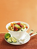 Mexican sweetcorn and vegetable salad