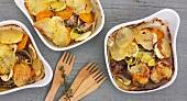 Baeckeoffe (Eintopf mit Fleisch und Kartoffeln, Elsass)
