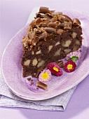 Chocolate apple cake