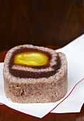 Azuki bean and chestnut confection (Japan)