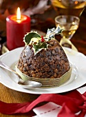 Christmas pudding (UK)