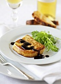 Foie gras with balsamic vinegar