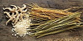 Soya flour and soya pasta