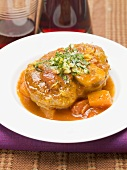 Ossobuco with carrots