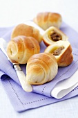 Paszteciki (Yeast pastries with mince filling, Poland)