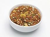 Seasoning mixture for bruschetta