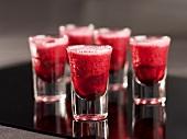 Strawberry verrines