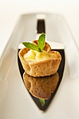 Goat's cheese tartlet