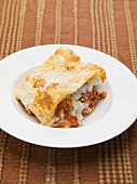 Lasagne alla bolognese (Lasagne with bolognese sauce, Italy)