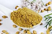 Coriander (seeds and ground seeds)