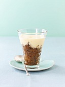 Coffee granita with orange zabaione