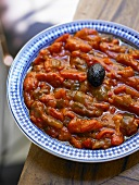 A plate of pepper stew