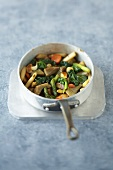 Pan-fried vegetables