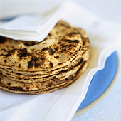 Chapatis (fried flatbread, India)