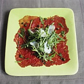 Carpaccio (Marinated, raw beef fillet, Italy)