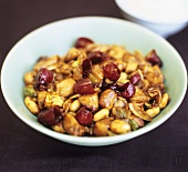Gong Bao (Hähnchen mit Erdnüssen, China)