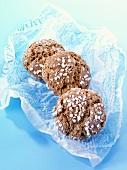 Amaretti (Almond biscuits, Italy)