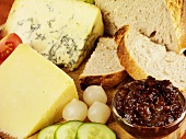 Ploughman's lunch (based on traditional English farmer's lunch)