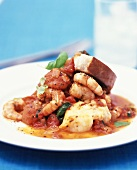 Mediterranean fish and seafood stew