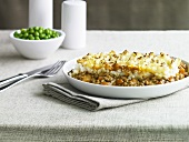 Shepherd's pie (Minced lamb with mashed potato topping, UK)