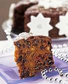 Christmas Cake (Weihnachtlicher Früchtekuchen; UK, Irland)