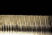 Viele Champagnergläser