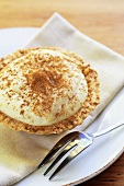 Melktert (Custard tart with cinnamon, S. Africa)