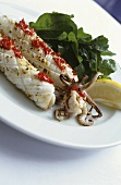 Grilled cuttlefish