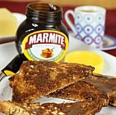 Marmite on wholemeal toast