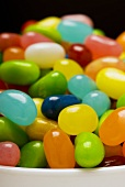 Coloured jelly beans