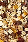 Muesli with raisins