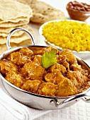 Chicken Madras (Chicken curry, India)