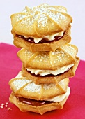 Filled Viennese whirls (UK)