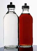 White- and red wine vinegar