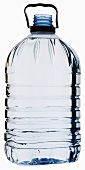 Mineral water in a plastic bottle