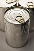 Unopened food tin
