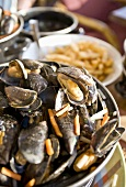 Moules et frites (Mussels and chips, Belgium)