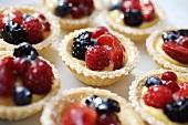 Mixed berry tarts