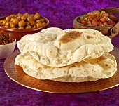 Chapatis (Flatbread, India)